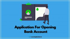 Application For Opening Bank Account, Letter For Opening Bank Account, Application For Opening Account In Bank, Bank Account Opening Request Letter For Company Employees, Bank Letter To Open Current Account