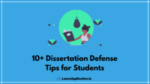 Dissertation Defense Tips for Students